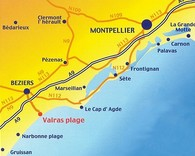 carte région Hérault
