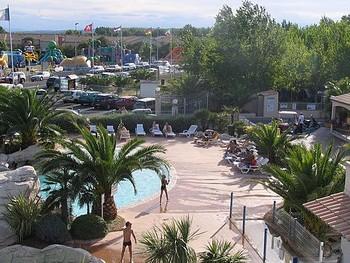 piscine du camping méditérranée